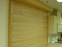 Wood Counter Shutter