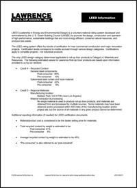 Microsoft Word - LEED information 3-12-09 R1